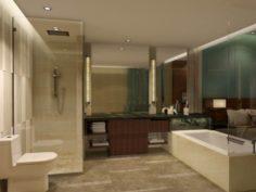 Bathroom design complete model 115 3D Model
