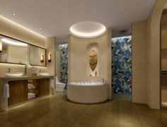 Bathroom design complete model 125 3D Model