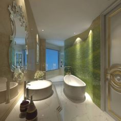 Bathroom design complete model 165 3D Model