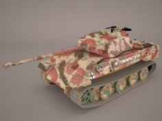 Panzer V 4 301 3D Model