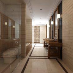 Bathroom design complete model 131 3D Model