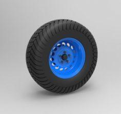 Offroad wheel 3D Model