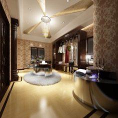 Bathroom design complete model 146 3D Model