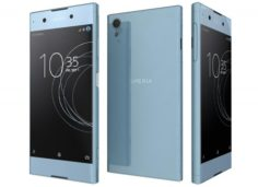 Sony Xperia XA1 Plus Blue 3D Model