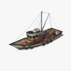 Fishing Vessel 3D Model