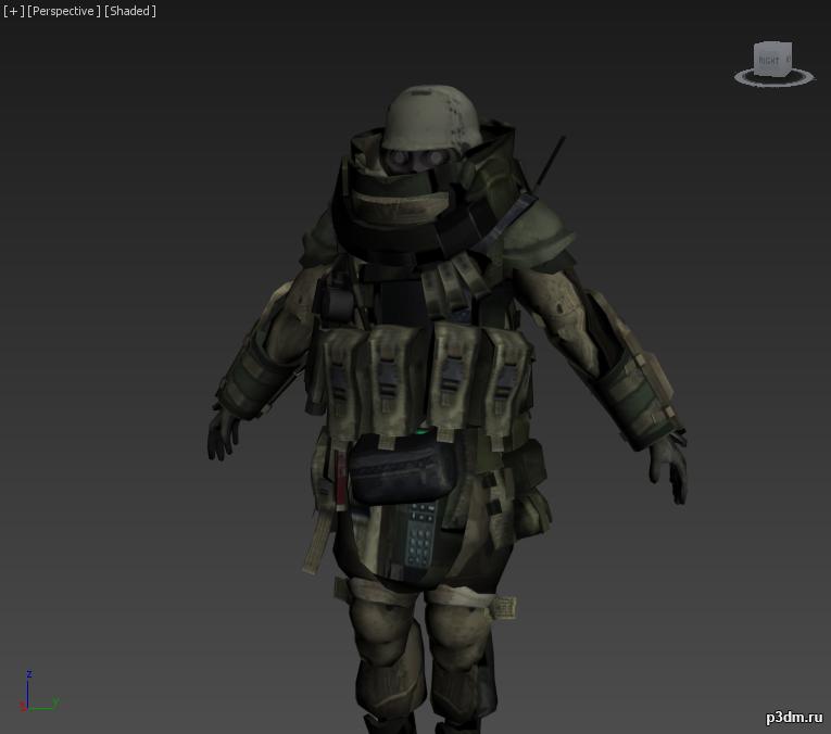 Juggernaut Modern Warfare 2 3d Model 3dhunt Co