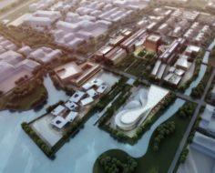 City planning 3D Model
