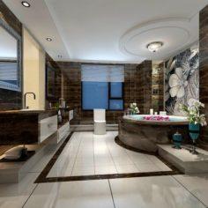 Bathroom design complete model 183 3D Model