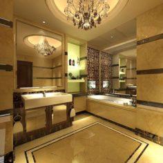 Bathroom design complete model 154 3D Model