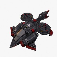 Spaceship Shee 3D Model