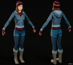 Ashley Indoor 3D Model