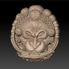 Monkey 3D Print Model