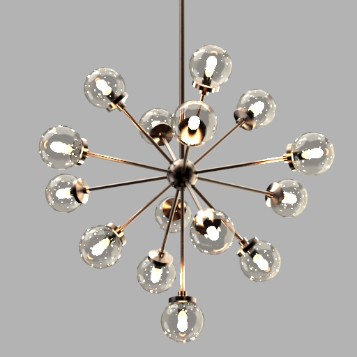 Henderson Chandelier 3D Model - 3DHunt co