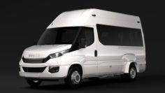 Iveco Daily Minibus L3H3 2017 3D Model