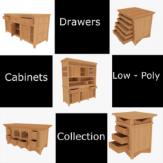 AsianFurnitureCollection 3D Model