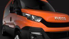 Iveco Daily Minibus L3H2 2014-2016 3D Model
