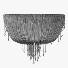 Louise Bradley – Crystal drape light 3D Model