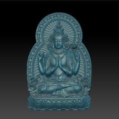 Kwan-yin 3D Print Model