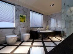 Home fashion bathroom 18 3D Model