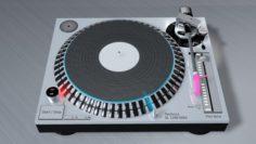 DJ Consol Technics SL 1200 MK5 3D Model