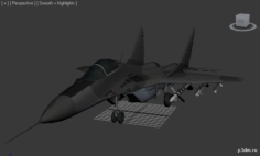 Call of Duty MiG-29 Fulcrum 3D Model