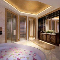Bathroom design complete model 150 3D Model