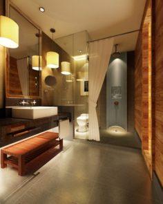 Family fashion sanitary toilet 1804 3D Model