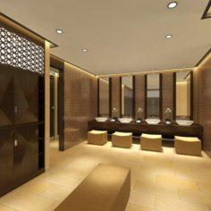 Bathroom design complete model 148 3D Model