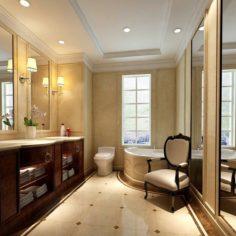Bathroom design complete model 133 3D Model
