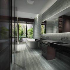 Bathroom design complete model 153 3D Model