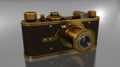 Leica Luxus Camera 3D Model