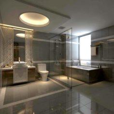 Bathroom design complete model 149 3D Model