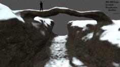 Snow canyon 3D Model