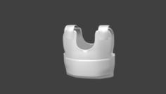 Bullet Proof Jacket 3D Model