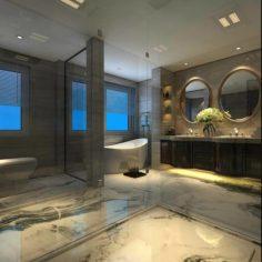 Bathroom design complete model 172 3D Model