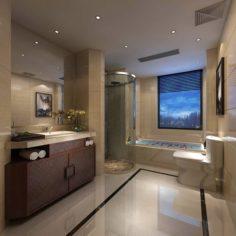 Bathroom design complete model 177 3D Model