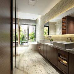 Bathroom design complete model 147 3D Model