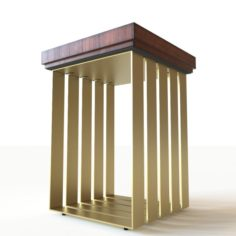HookesFurniture Accent Table 3D Model