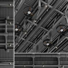 Ceiling ventilation 2 3D Model