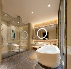 Bathroom design complete model 124 3D Model