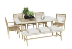 Outdoor furnitures 02 3D Model
