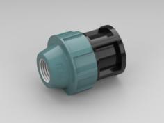 Fitting plug 3D Model