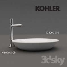Conical Bell- Wash basin                                      Free 3D Model