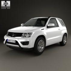 Suzuki Grand Vitara 3-door 2012 3D Model