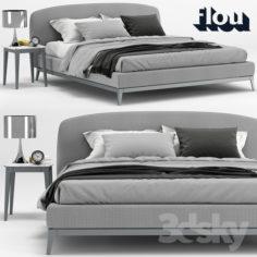 Bed Olivier, Flou                                      3D Model