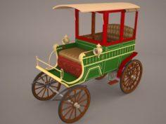 Retro Carriage 3D Model