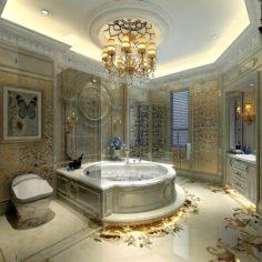Bathroom design complete model 164 3D Model