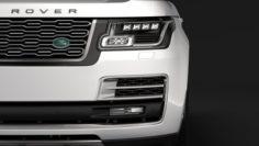 Range Rover SVAutobiography Landaulet LWB L405 2018 3D Model