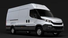 Iveco Daily Van L3H2 2014-2016 3D Model