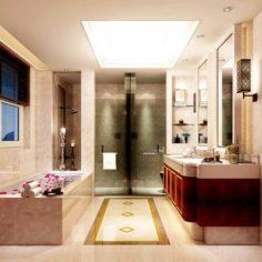 Bathroom design complete model 128 3D Model